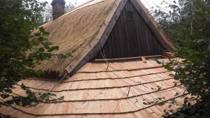 Rekonstrukce doškové střechy dokončena